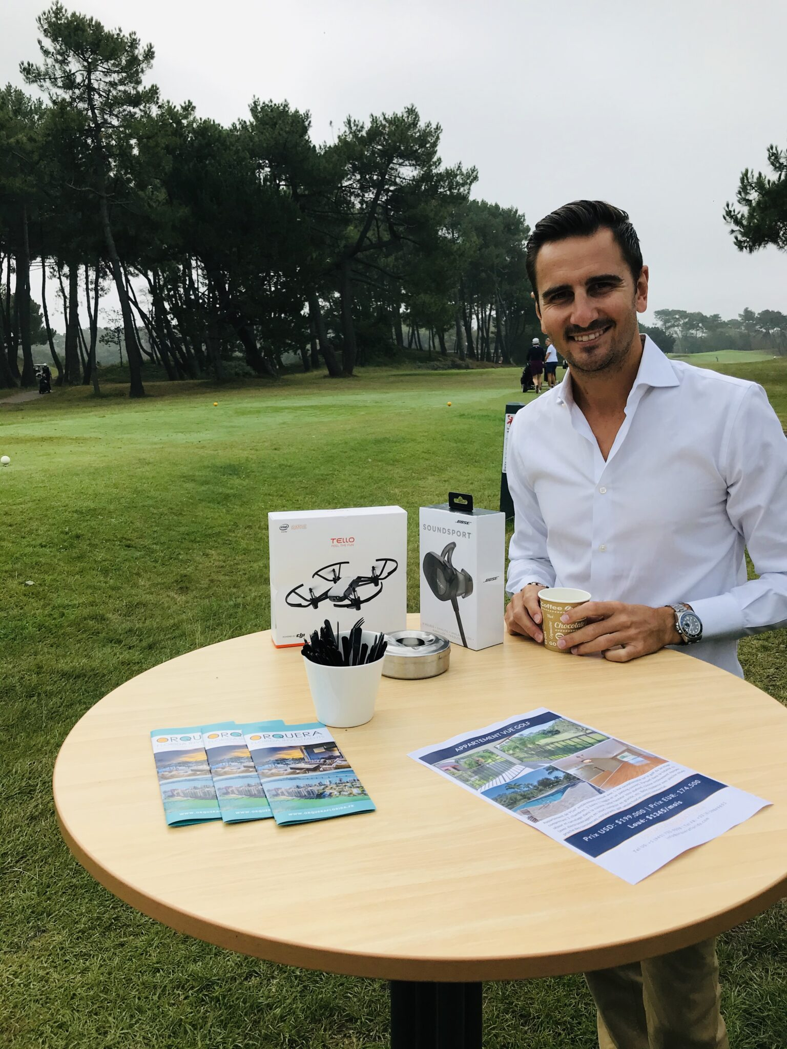 Competition de golf le touquet stand